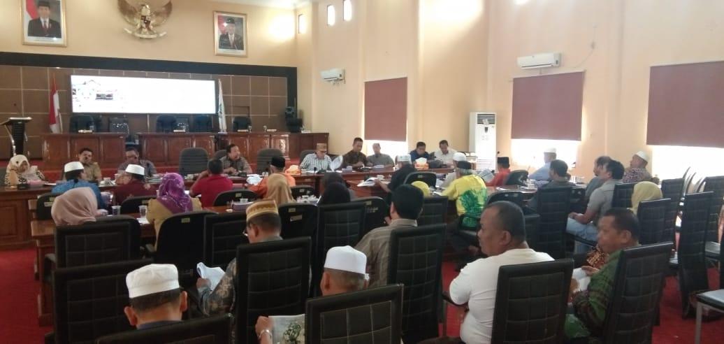 PPKB Sambangi DPRD Balangan, Harapkan Raperda Inisiatif Segara Selesai