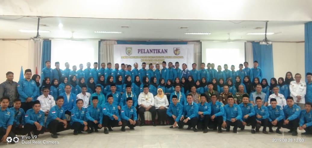 Ketua DPRD Balangan Menghadiri Pelantikan KNPI Kabupaten Balangan Periode 2019 - 2022