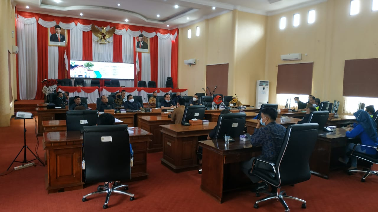 PARIPURNA DPRD BALANGAN PENUTUPAN MASA SIDANG KE III TAHUN PERSIDANGAN 2020