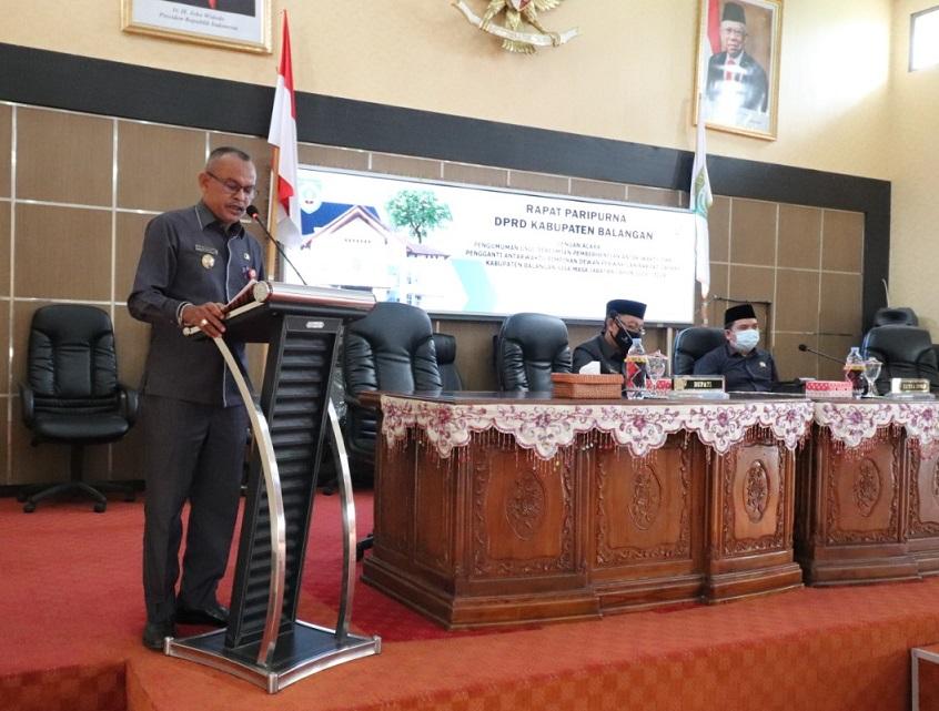 Hanil Tamjid Resmi di Usulkan PDIP Sebagai Wakil Ketua II DPRD Balangan