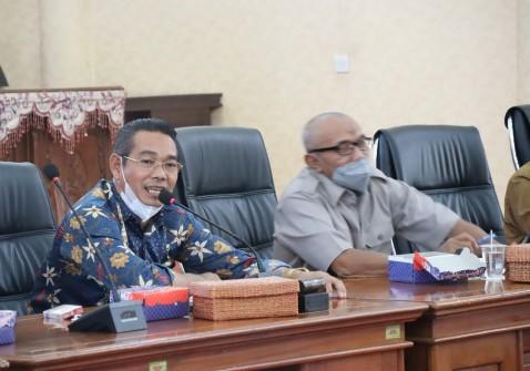 Komisi I DPRD Balangan Bahas Rencana Penyelenggaraan Pembelajaran Baru di Masa Pandemi Covid-19