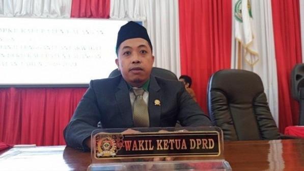 Wakil Ketua DPRD Kabupaten Balangan, M. Ifdali Himbau Masyarakat Hati - Hati Melewati Jalur Alternatif