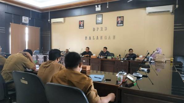 Komisi 1 DPRD Balangan Gelar Rapat Kerja Bahas Asset Daerah Pasca Penggabungan SKPD