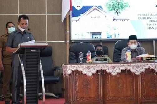 Pemkab Balangan dan Dewan Setujui Hasil Evaluasi Gubernur Atas Ranperda APBD-P 2021