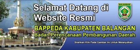 BAPPEDA Kabupaten Balangan