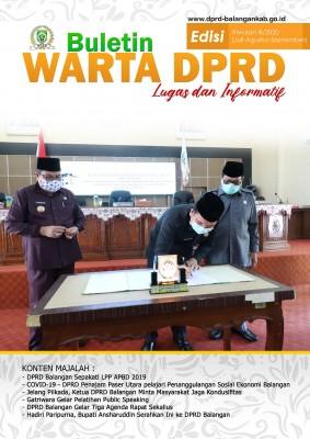 Buletin DPRD Balangan Triwulan III 2020