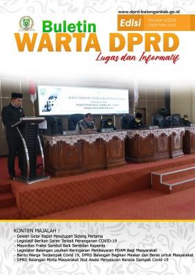 Buletin DPRD Balangan Triwulan II 2020